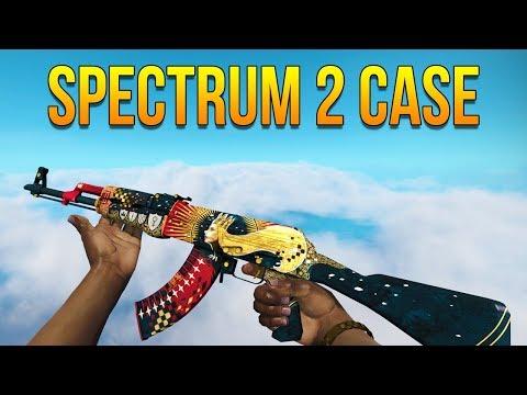 CSGO - Spectrum 2 Case All Skins Showcase (Giveaway)