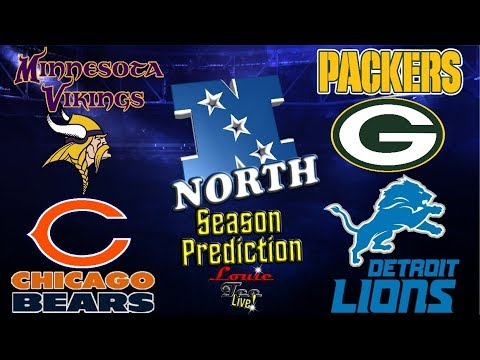2017 NFL Season: NFC North Season Preview & Predictions #LouieTeeLive