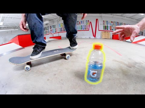 Bottleflips VS Kickflips! (First One To Miss Loses!)