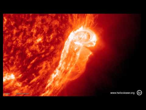 M1.7-class solar flare + a huge CME! (July 17, 2012)