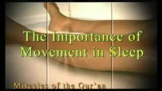 MIRACLES OF THE QUR'AN THE IMPORTANCE OF MOVEMENT IN SLEEP www harunyahya com