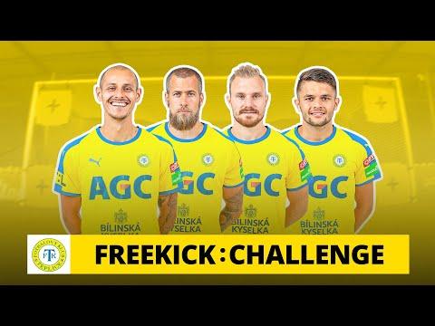 Freekick Challenge v Teplicích: ein Millimeter
