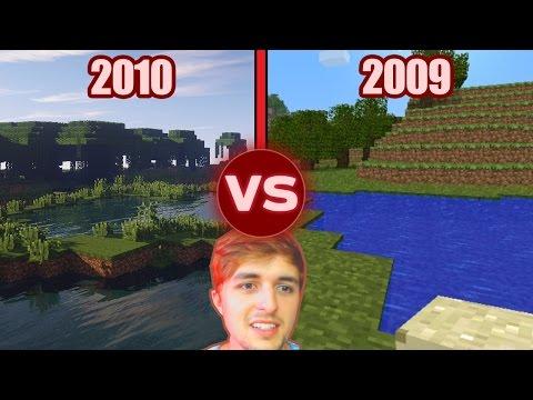 Minecraft ANTES vs Minecraft AHORA - ¿Por qué tantos niños?