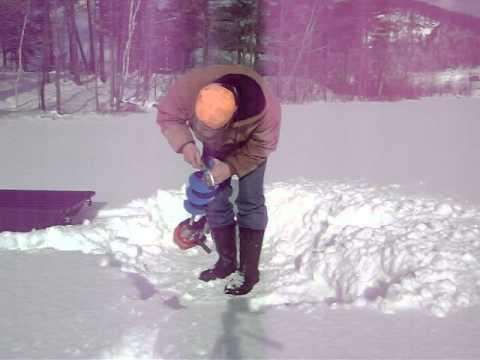 Mora Ice Auger Blade Sharpening