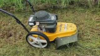 Reviews of the Cub Cadet Wheeled String Trimmer