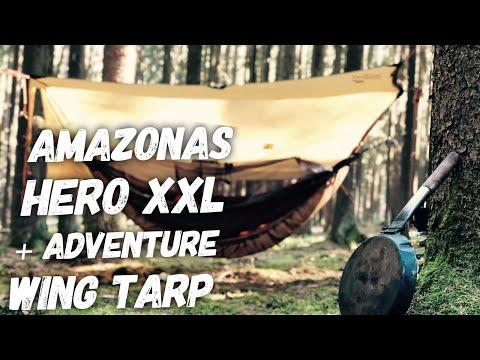 Beim Naturburschen - Test & Vorstellung der Amazonas Hero XXL Hängematte + Adventure Wing Tarp