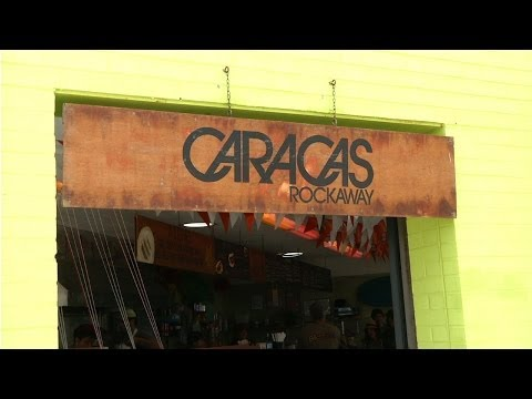 Caracas Arepa Bar at Rockaway Beach