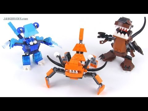 LEGO Mixels Series 2 MAX combinations! Frosticons. Fang Gang. & Flexers!