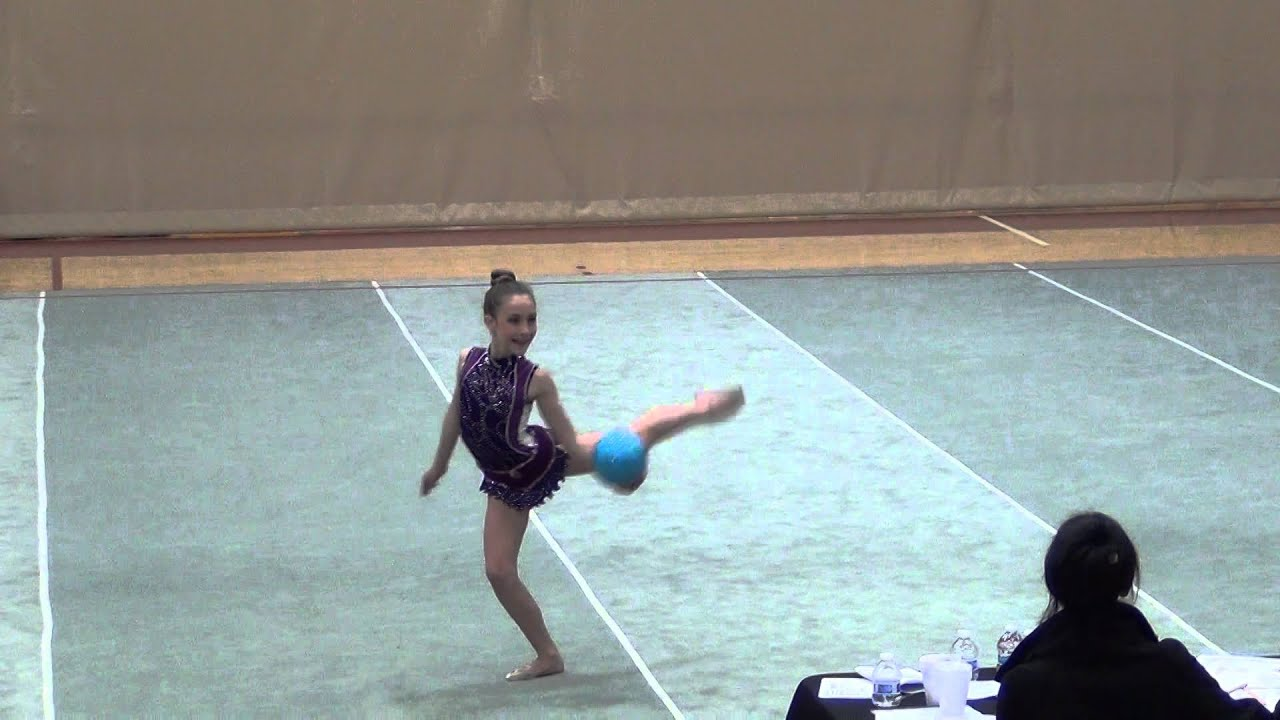 Gymnastic Ball Rhythm Gymnastics Ball Routine