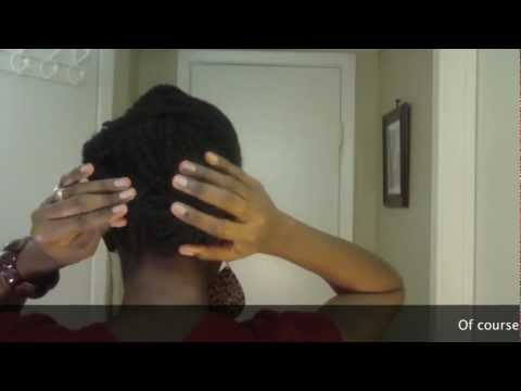 ♥19♥ Two Strand Twists Pin-Up: Natural Hair Protective Style