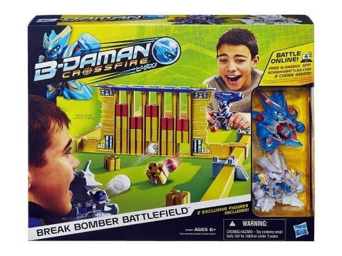 (CLOSED) B-Daman Crossfire Break Bomber Battlefield Set Unboxing Review Giveaway. Exp Sep 8th