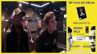 AIK Play: RalleGnaget vs Rashidi i FIFA19