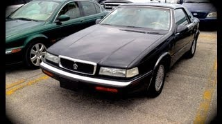 1990 Chrysler TC By Maserati V6 Start Up, Quick Tour, & Rev With Exhaust View - 45K