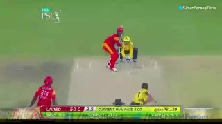 Sharjeel Khan Century in PSL