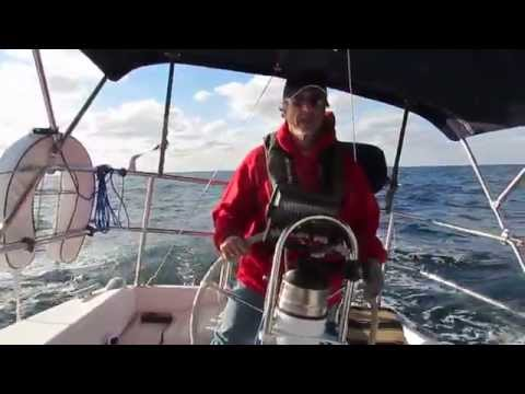 Video #5 - Sailing - Kemah, TX to St. Petersburg, FL -- Just sailing! | 2-14-2014