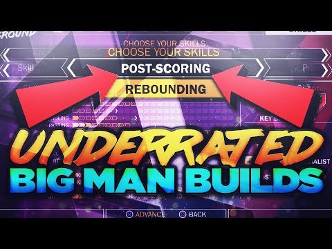 THE MOST UNDERRATED BIG MAN BUILDS IN NBA 2K18!! DON'T JUST MAKE A PURE REBOUNDER!!!