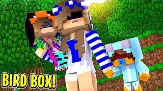 BIRD BOX in Minecraft | Little Carly Adventure's.