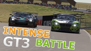 iRacing | BMW Z4 VS FORD GT | Battle for the lead