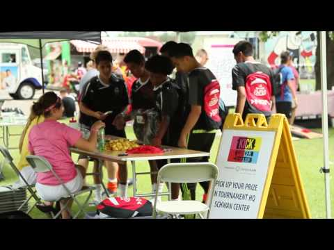 NSCtv at USA CUP July 16, 2015: Women's World Cup Referees & Kick Cancer Organizations