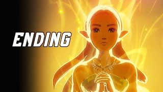 Legend of Zelda Breath of the Wild Walkthrough Part 41 - TRUE ENDING + FINAL BOSS (Let