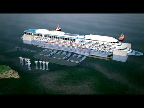 Costa Concordia 3D Animation Refloat Video Documentary