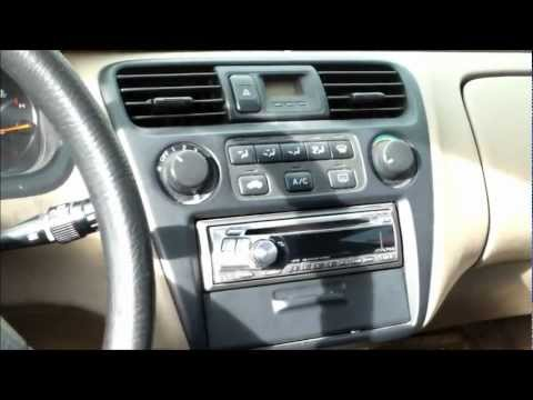 DIY How to replace install ac control assembly Honda Accord