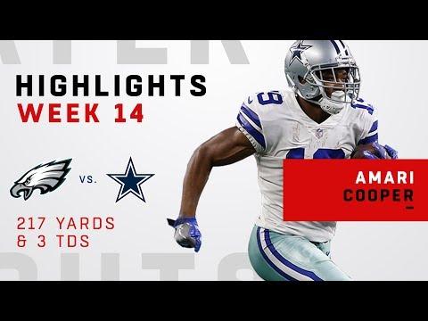 Amari Cooper's CRAZY Day w/ 3 TDs & 217 Yards vs. Philly