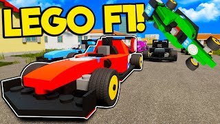 Idiots Become Formula One Drivers but Ruin Everything in Brick Rigs Multiplayer!