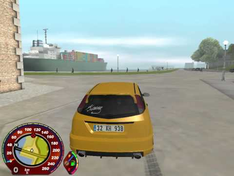 GTA San Andreas (PC) Engine ON/OFF And Car Repair Mod
