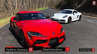 Toyota Supra Vs. Porsche Cayman GTS – Who Makes The Better Sports Car?