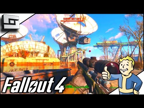 Fallout 4 Gameplay - SATELLITE ARRAY! Ep 19