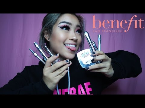 BENEFIT NEW BROW COLLECTION REVIEW   Marcella Febrianne