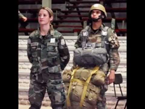 Tributo a Las Mujeres de Las Fuerzas Armadas de Chile.. The Chileans Ladies in the Armed Forces