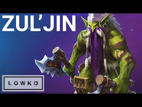 Heroes of the Storm: ZUL'JIN Gameplay!