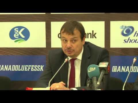 Ergin Ataman'dan Fenerbahçe Taraftarına Tepki