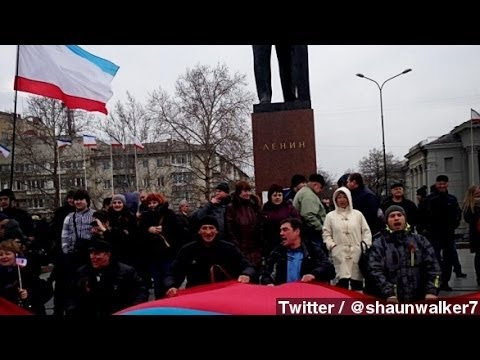 Protesters Clash In Crimea As Russia Tightens Grip
