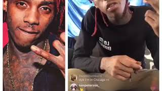 Famous Dex passes out on Instagram live