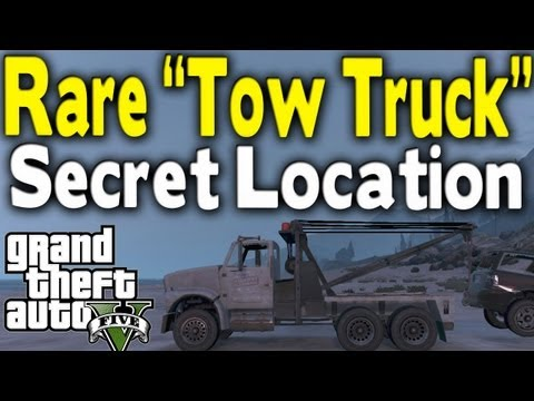 Tow Truck Location Gta 5 Online ▶ Gta 5 Rare Tow Truck