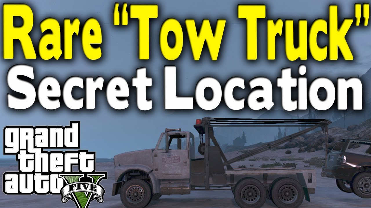 Tow Truck Location Gta 5 Online Gta 5 Rare Tow Truck