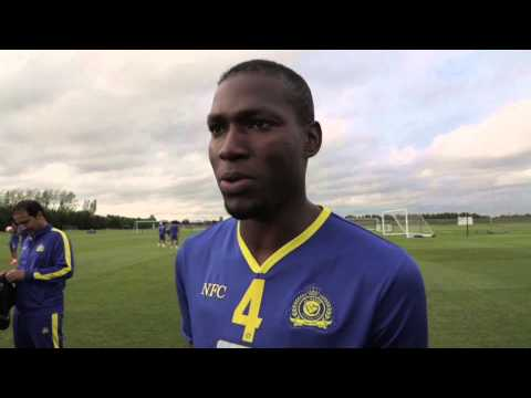 Al-Nassr train ahead of Saudi Arabia Super Cup at Loftus Road