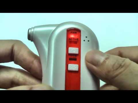 How to Use Battery Powered Acne Cleaning Heat Treatment Device