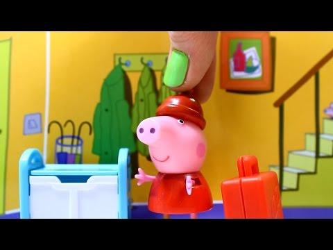 свинка пеппа  Как стать Феей. Мультфильм для детей с игрушками.