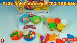 Play-doh  Fogão que faz barulho SUPER LEGAL !!