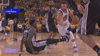 Stephen Curry Drops Dedmon! Kawhi Leonard Misses Game 2! Spurs vs Warriors