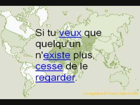 Proverbe musulman youtube for Miroir au alouette