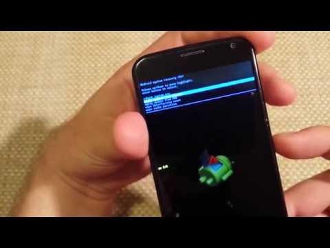 Motorola Moto X Alternate Factory Data Reset how to DIY