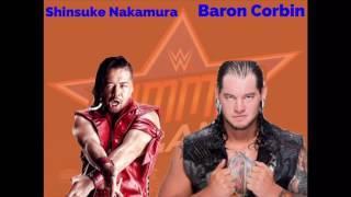 WWE SummerSlam 2017 Match Card