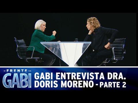 De Frente com Gabi (31/08/14) - Gabi recebe a Dra. Doris Moreno - Parte 2