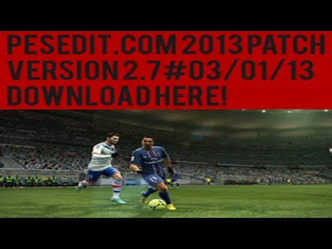 Pesedit.com 2013 Patch 2.7 - #03/01/13