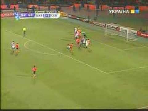 UEFA CUP Shakhtar vs Sevilla